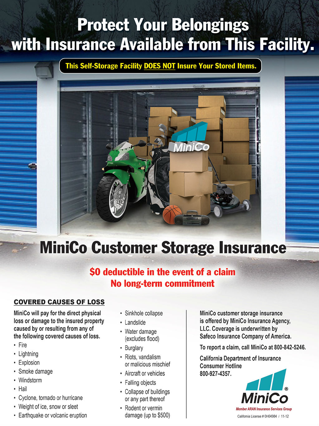 Tenant Insurance | Ace Mini Storage