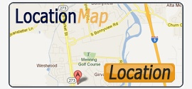 Location Map - Ace Mini Storage